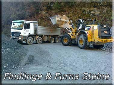 Furna Steine / Findlinge