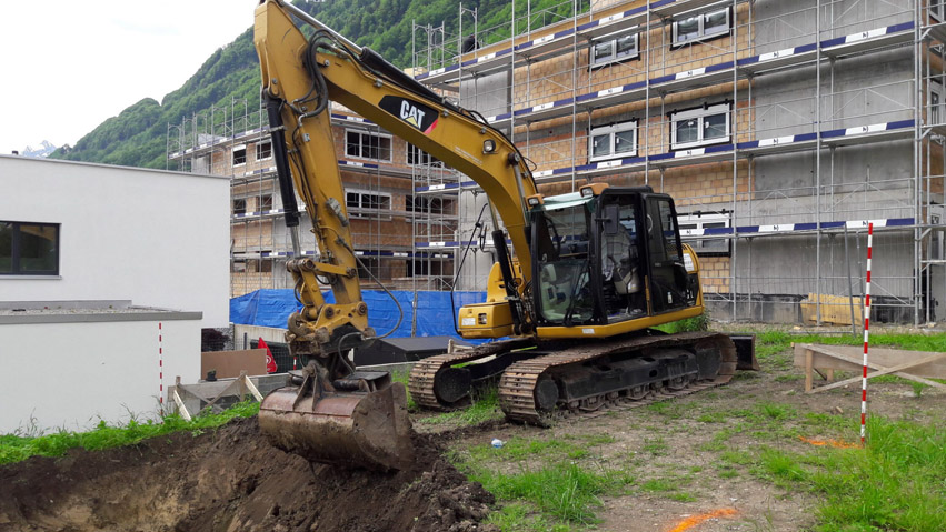 MMS Unternehmungen Siebnen. Wir sind in vielen bereichen des Bauunternehmens tätig.